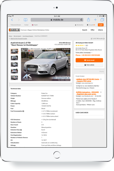 E Mobilelv Vehicles From Autoscout24de And Mobilede